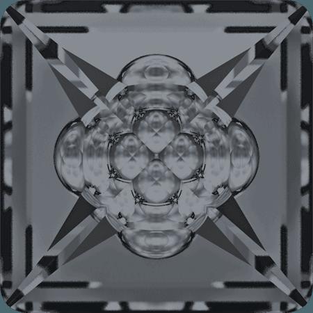 Swarovski 4481 - Vision Square, CR Silver Night