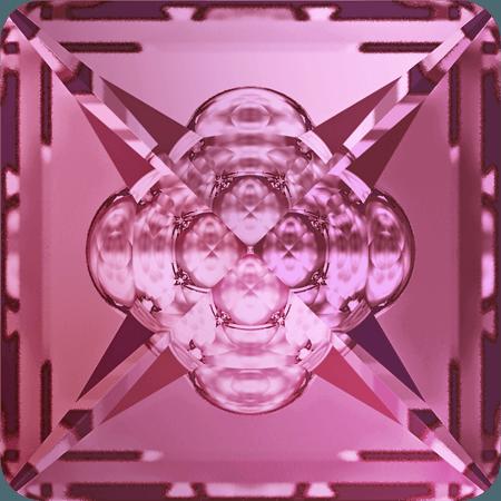 Swarovski 4481 - Vision Square, Rose