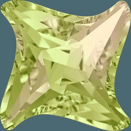 Swarovski 4485 - Twister, Crystal Luminous Green