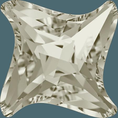 Swarovski 4485 - Twister, Crystal Silver Shade