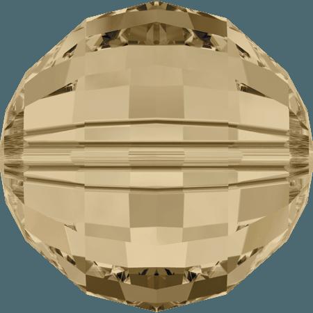Swarovski 5005 - Chessboard, CR Golden Shadow
