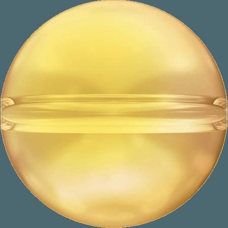 Swarovski 5028/4 - Crystal Globe, CR Metallic Sunshine