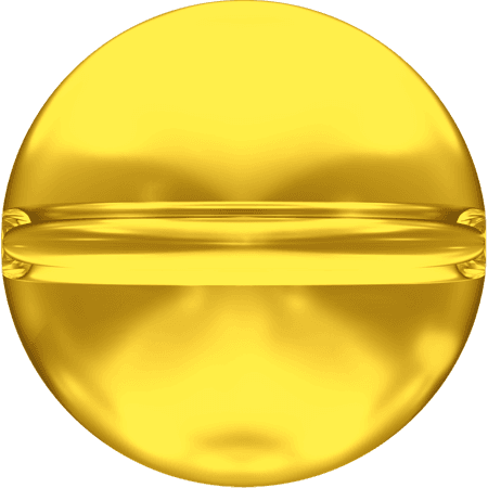 Swarovski 5028/4 - Crystal Globe, Light Topaz