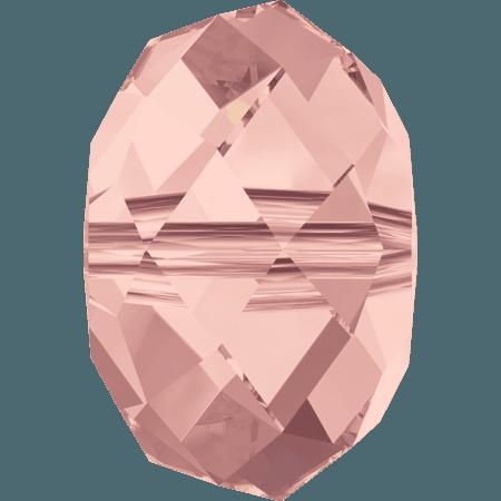 Swarovski 5040 - Briolette, Blush Rose