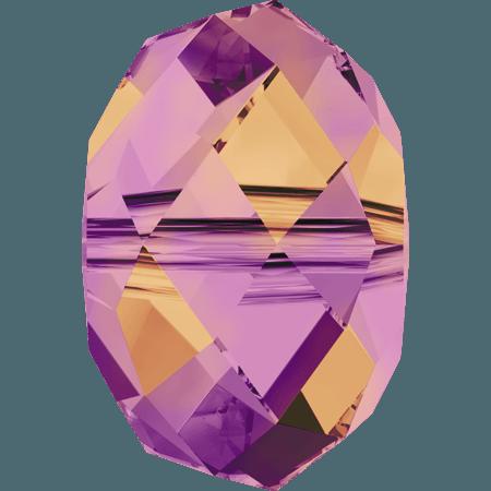 Swarovski 5040 - Briolette, CR Astral Pink