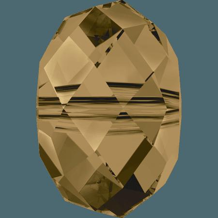 Swarovski 5040 - Briolette, CR Bronze Shade