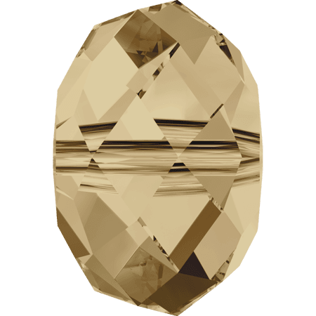 Swarovski 5040 - Briolette, CR Golden Shadow