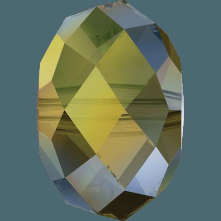 Swarovski 5040 - Briolette, CR Irinescent Green