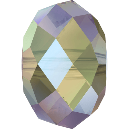 Swarovski 5040 - Briolette, CR Paradise Shine