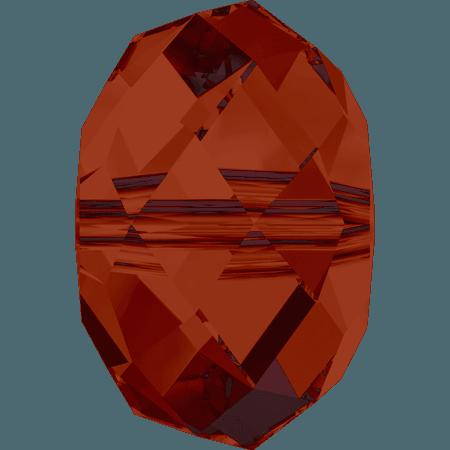 Swarovski 5040 - Briolette, CR Red Magma