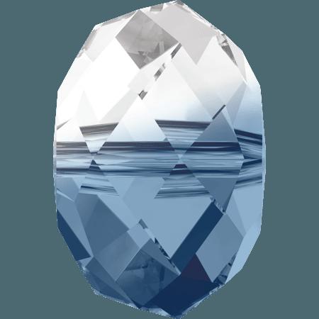 Swarovski 5040 - Briolette, Crystal - Montana Blend