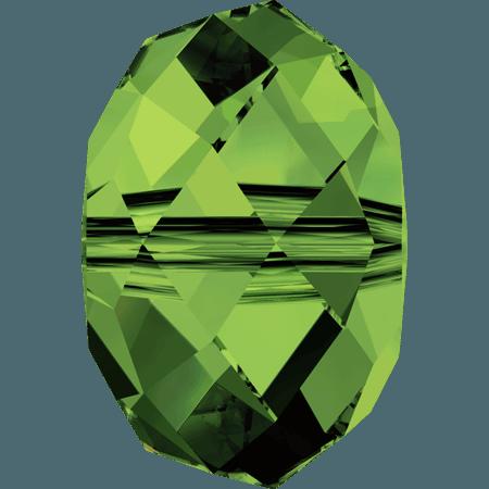 Swarovski 5040 - Briolette, Dark Moss Green