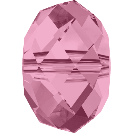 Swarovski 5040 - Briolette, Light Rose