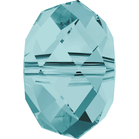 Swarovski 5040 - Briolette, Light Turquoise