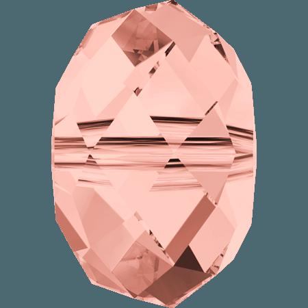 Swarovski 5040 - Briolette, Rose Peach