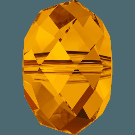 Swarovski 5040 - Briolette, Tangerine