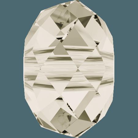Swarovski 5041 - Briolette (large hole), CR Silver Shade