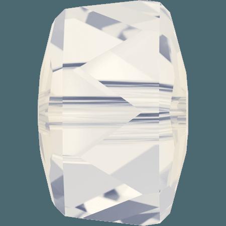 Swarovski 5045 - Rondelle, White Opal
