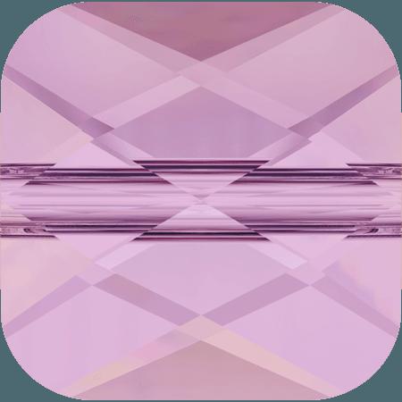 Swarovski 5053 - Mini Square, CR Lilac Shadow