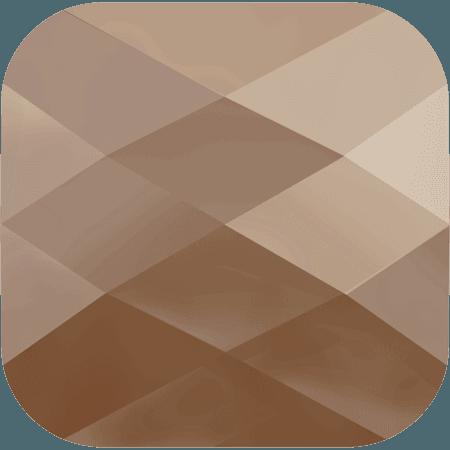 Swarovski 5053 - Mini Square, CR Rose Gold