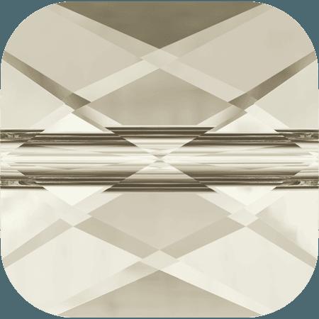 Swarovski 5053 - Mini Square, CR Silver Shade