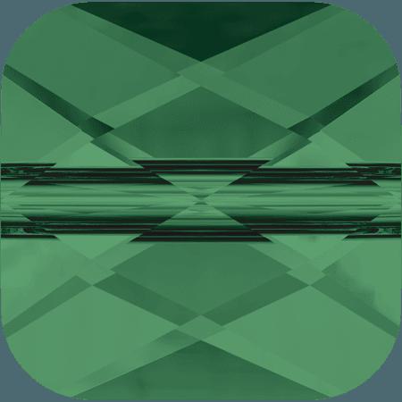 Swarovski 5053 - Mini Square, Emerald