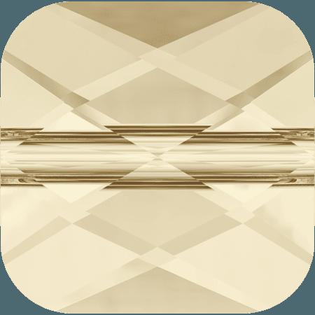 Swarovski 5053 - Mini Square, Light Silk