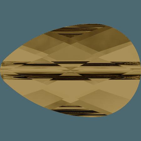Swarovski 5056 - Mini Drop, CR Bronze Shade