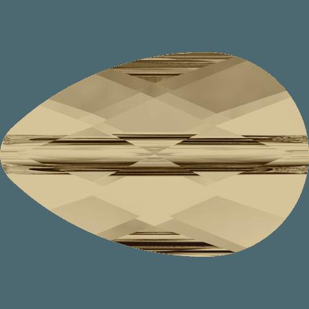 Swarovski 5056 - Mini Drop, CR Golden Shadow