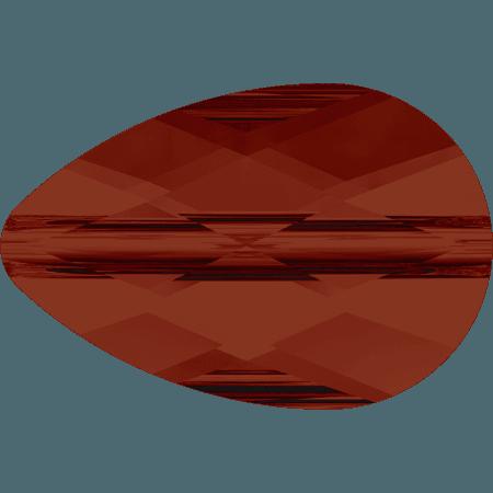 Swarovski 5056 - Mini Drop, CR Red Magma