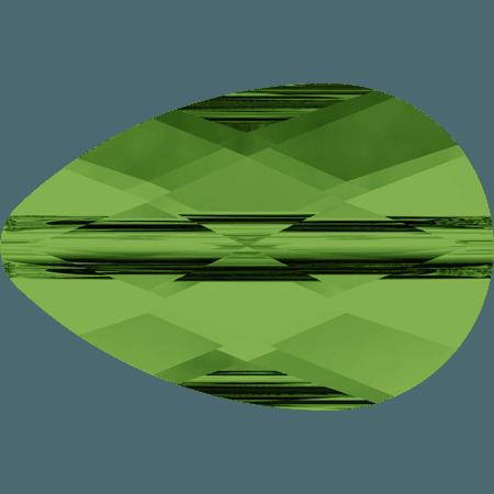 Swarovski 5056 - Mini Drop, Dark Moss Green