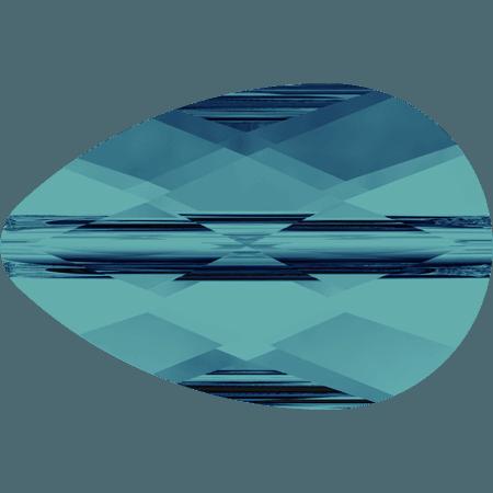 Swarovski 5056 - Mini Drop, Indicolite