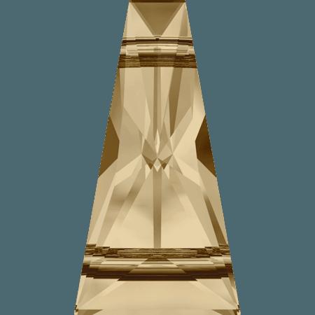 Swarovski 5181 - Keystone, CR Golden Shadow