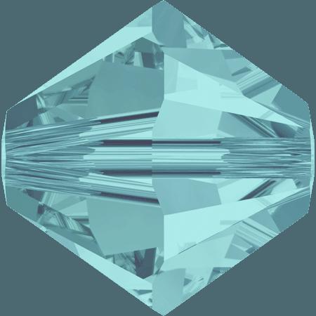 Swarovski 5328 - XILION, Light Turquoise