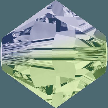 Swarovski 5328 - XILION, Provance Lavender - Chrysolite Blend