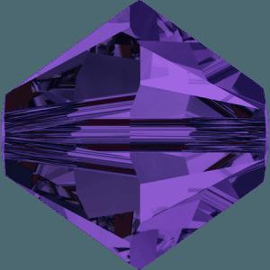 Swarovski 5328 Purple Velvet