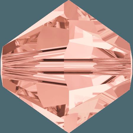 Swarovski 5328 - XILION, Rose Peach