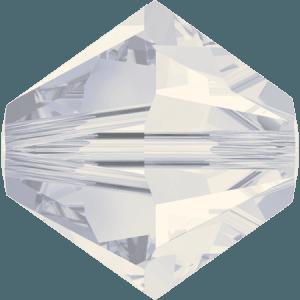 Swarovski 5328 White Opal