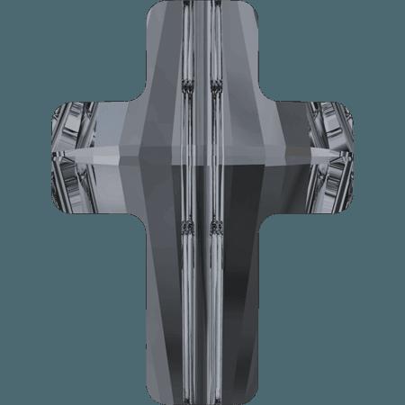 Swarovski 5378 - Cross, CR Silver Night