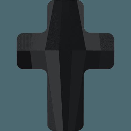 Swarovski 5378 - Cross, Jet
