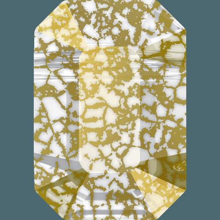 Swarovski 5514 - Pendulum, CR Gold Patina