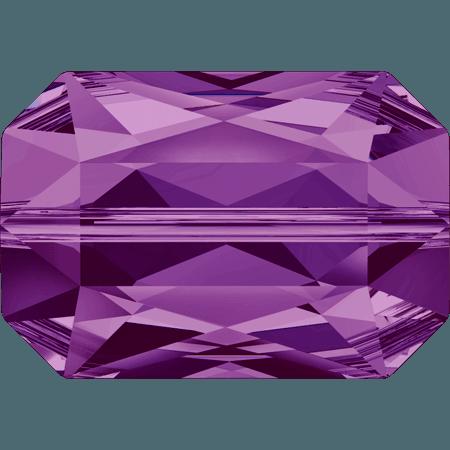 Swarovski 5515 - Emerald Cut, Amethyst