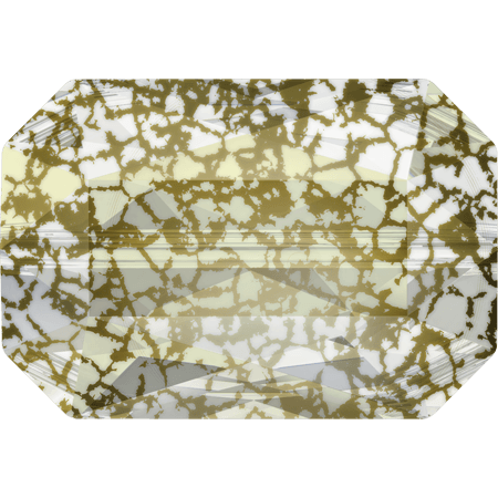 Swarovski 5515 - Emerald Cut, CR Gold Patina