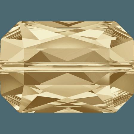 Swarovski 5515 - Emerald Cut, CR Golden Shadow