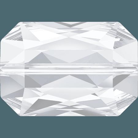 Swarovski 5515 - Emerald Cut, Crystal