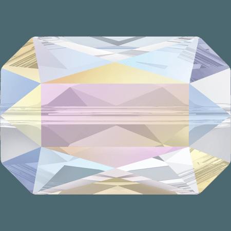 Swarovski 5515 - Emerald Cut, Crystal AB