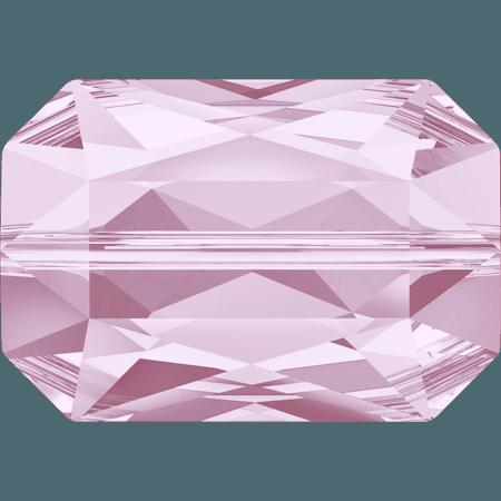 Swarovski 5515 - Emerald Cut, Rosaline