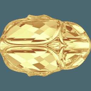 Swarovski 5728 CR Metallic Sunshine