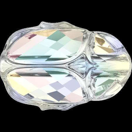 Swarovski 5728 - Scarab, Crystal AB Unf