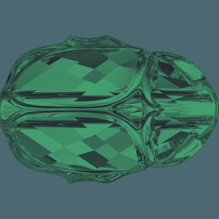 Swarovski 5728 - Scarab, Emerald Unf